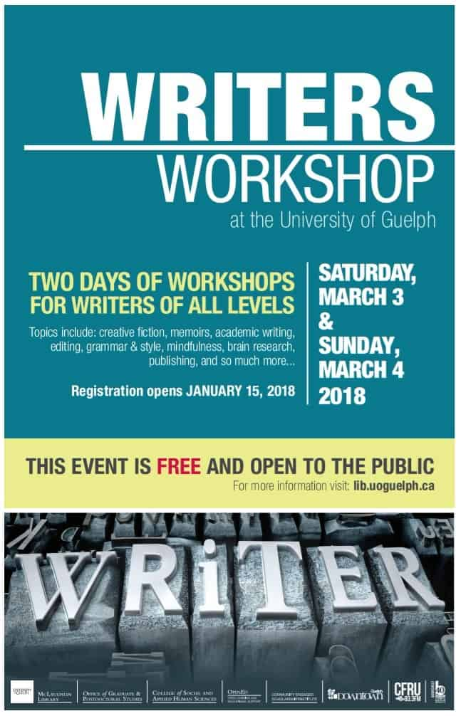 University of Guelph Writers Workshop