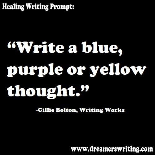 Healing writing prompt