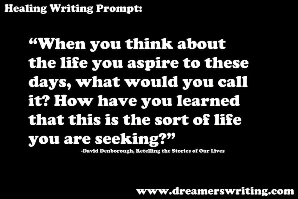 Therapeutic Writing Prompts #4