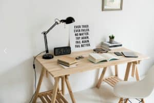 Poem Writers Desk