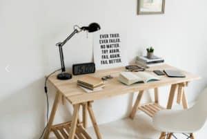 Poem Writers Desk