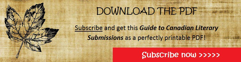 Banner, submit writing, guide to literary submissions