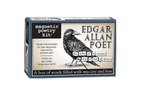 100 Gifts for Writers - Edgar Allen Poet Magnets