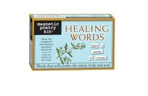 100 Gifts for Writers - Healing Magnetic Poetry Kit