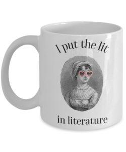 100 Gifts for Writers - Lit Mug