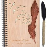 100 Gifts for Writers - Wooden Notebook