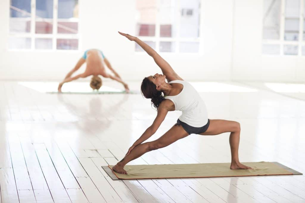 lunge pose pilates