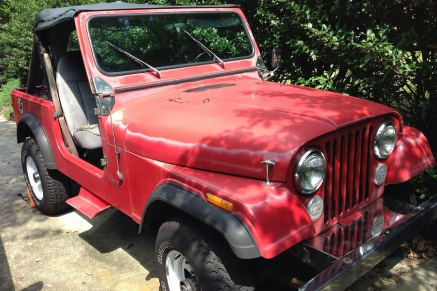 The Red Jeep