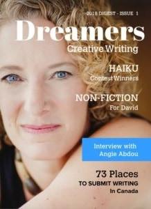 Dreamers Magazine Cover