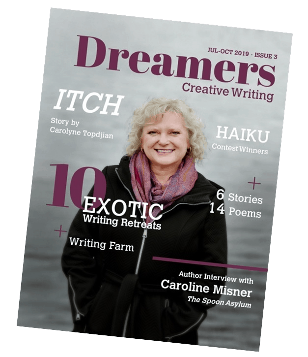 Dreamers Magazine Issue 3 Cover
