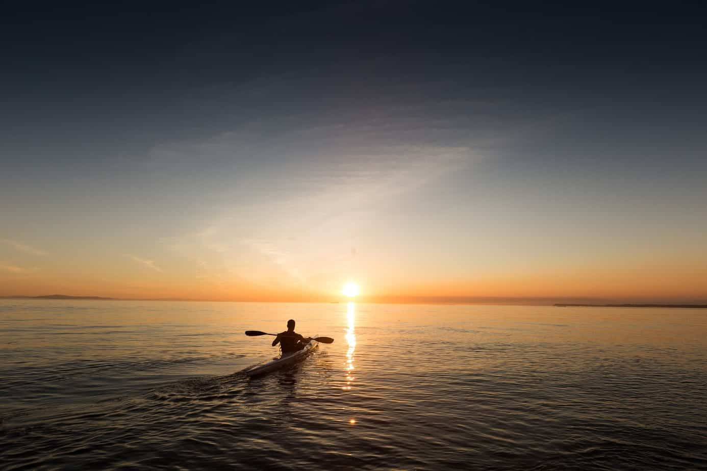 Paddling Toward Peace